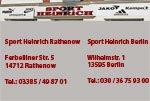 Sponsor Sport Heinrich